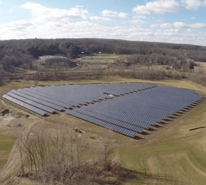 2.6 MW Solar Array at Houghton College