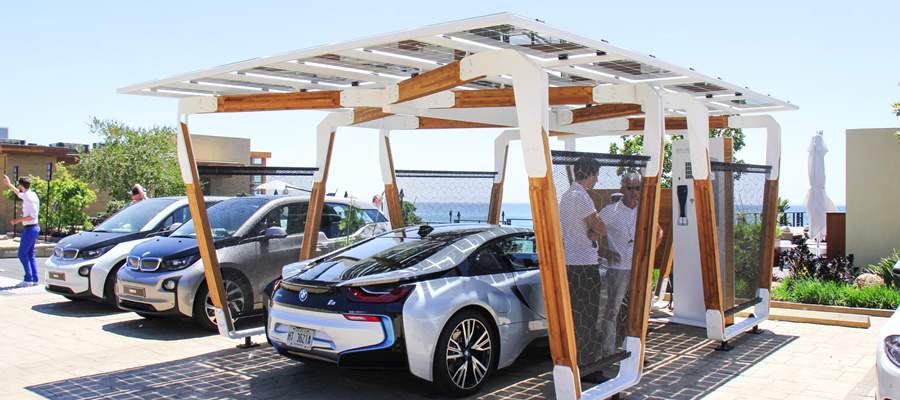Bmw To Launch Pilot Solar Powered Ev Charging Stations In South