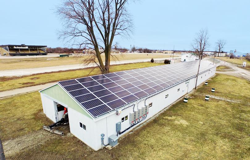 Strathcona-Energy-Dresden-Raceway-Ontario-rooftop-solar-array-