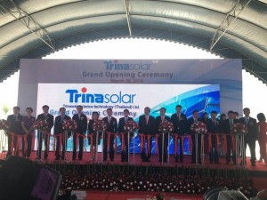 Trina-Solar- Launches- Operations-at Thailand-Solar Cell-Factory
