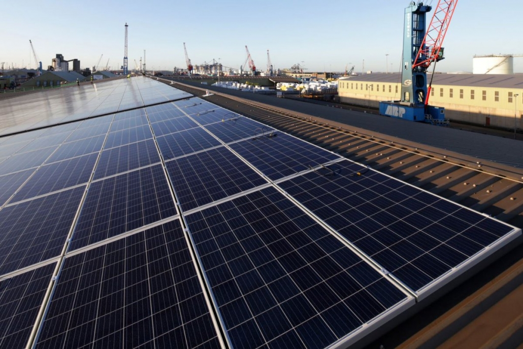 Associated British Ports Invests Over 163 1m On A Rooftop