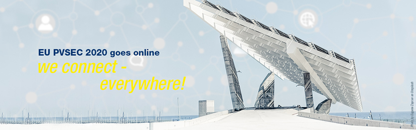 EU PVSEC 2020 online event to gather scientists and industry representatives from the whole PV sector