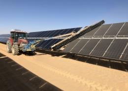 SunBrush® mobil and Infinity establish service base at Benban, Africa's largest solar park